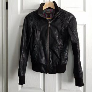 Danier Genuine Leather Biker Jacket